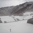 雪の中のハウス1